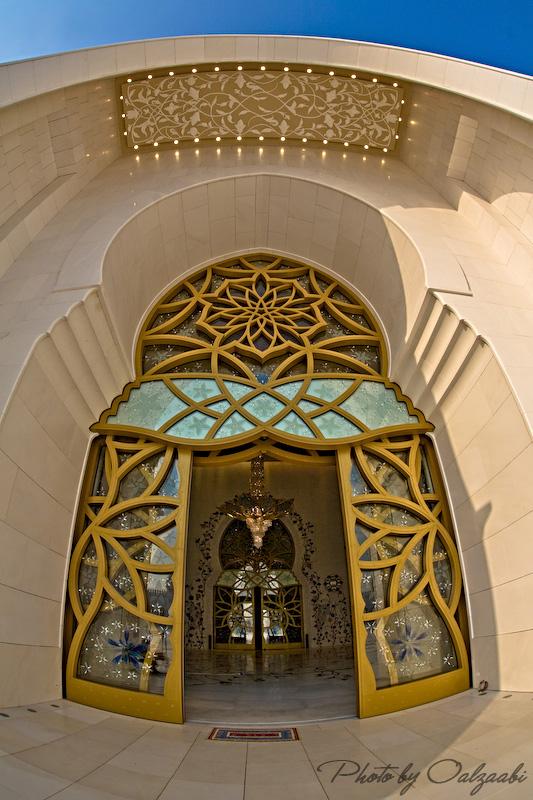 اكبر مسجد بالامارات والثالث عالمياً 7417_11209034095