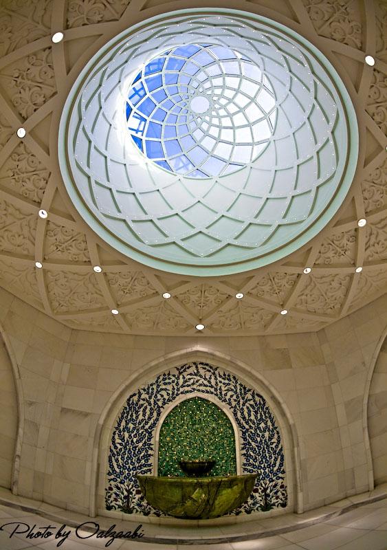اكبر مسجد بالامارات والثالث عالمياً 7417_21209033968