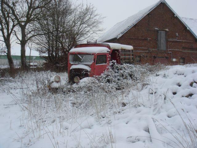 Utilitaire Citroën sous la neige 18.75