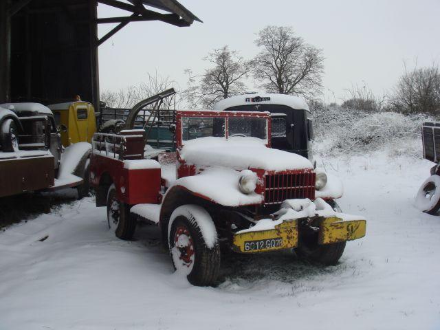 Utilitaire Citroën sous la neige 20.50