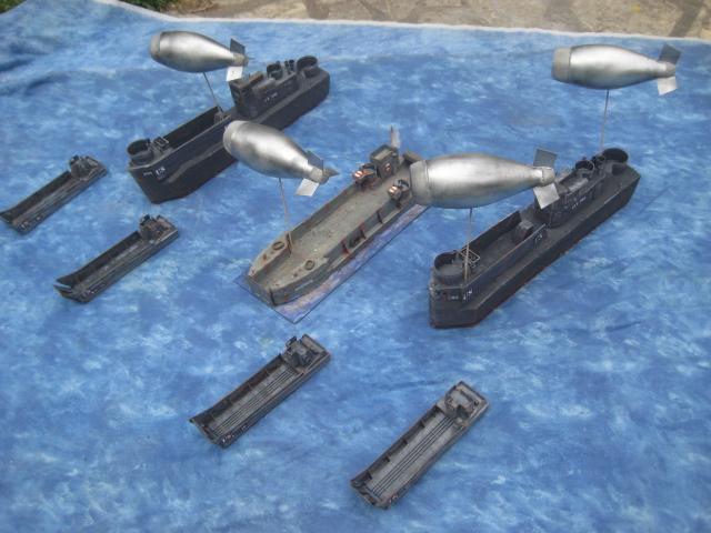 Dirigeables anti aériens pour OVERLORD 01.205