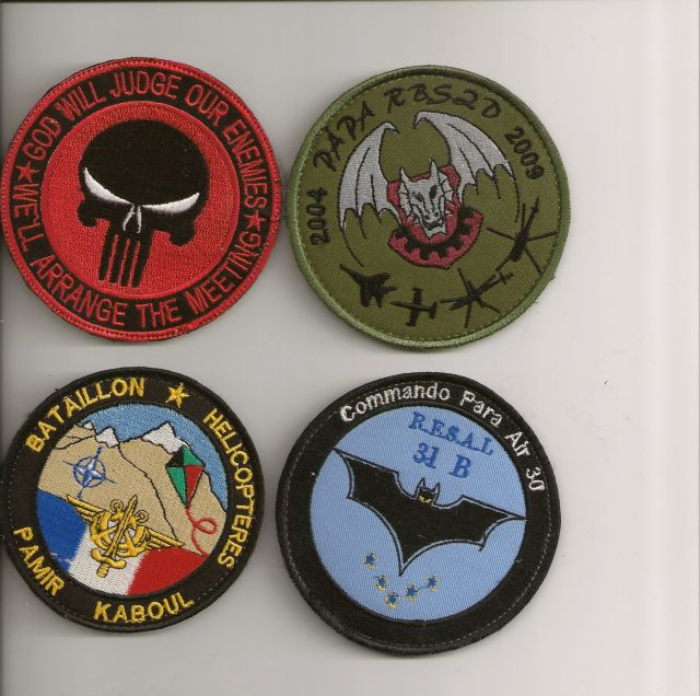 Patch Français Afghanistan 23.416