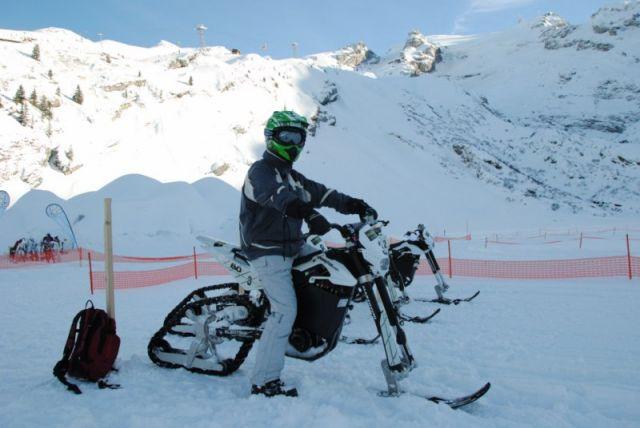 Moto électrique pour la neige 31.185