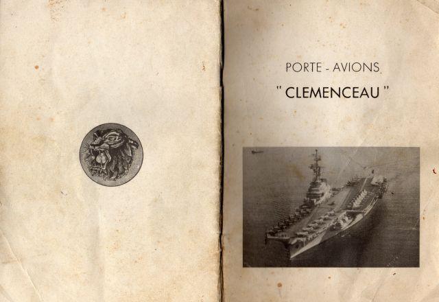 Le porte-avions CLEMENCEAU 03.230