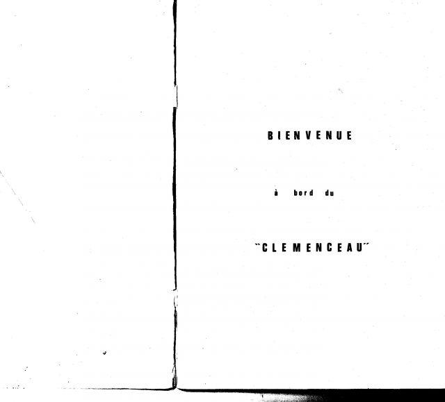 Le porte-avions CLEMENCEAU 03.231