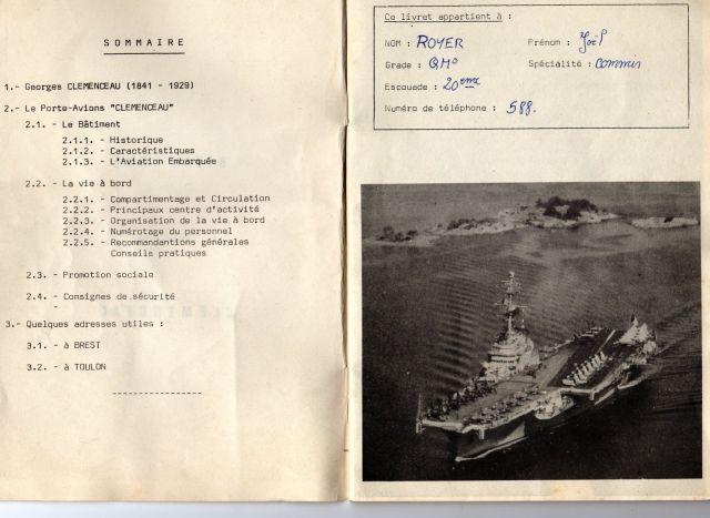 Le porte-avions CLEMENCEAU 03.232