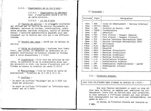 Le porte-avions CLEMENCEAU - Page 2 03.257