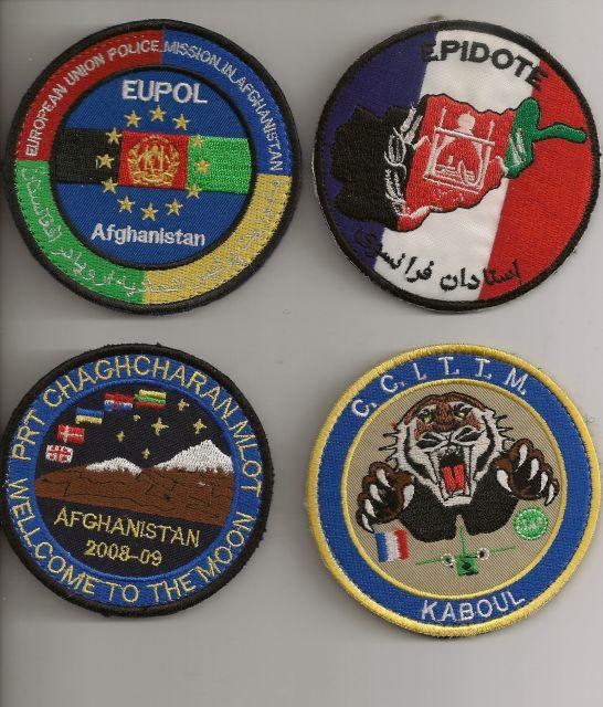 Patch Français Afghanistan 10.8