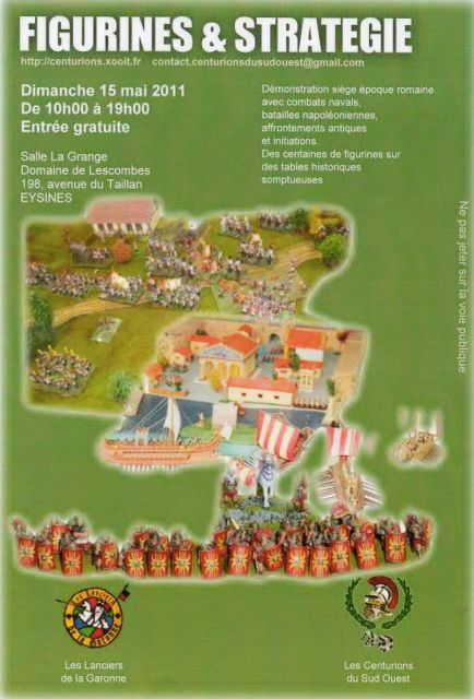 MEGA SIEGE ANTIQUE au Chateau d'EYSINES (33) 05.236