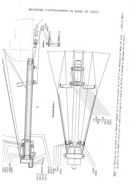 2000 - Barre de coupe sur Staub 2000 27.191
