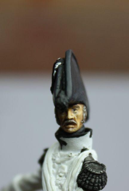 Le colonel Despans-Cubières à Hougoumont (mise en peinture) 18.391