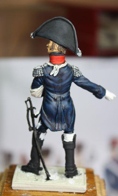 Le colonel Despans-Cubières à Hougoumont (mise en peinture) 25.291