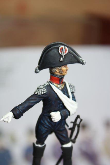 Le colonel Despans-Cubières à Hougoumont (mise en peinture) 25.295