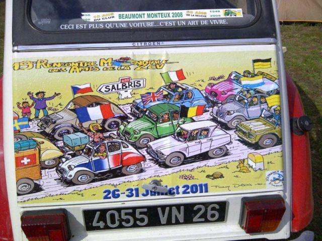 SALBRIS MONDIALE 2CV 2011 28.113