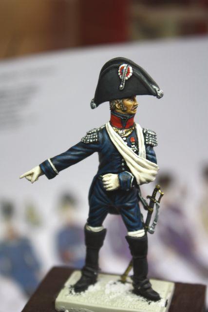 Le colonel Despans-Cubières à Hougoumont (mise en peinture) 30.266