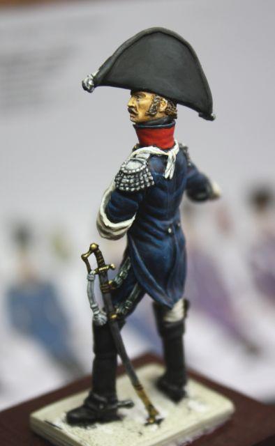 Le colonel Despans-Cubières à Hougoumont (mise en peinture) 30.269