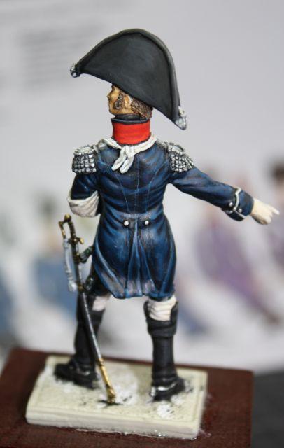 Le colonel Despans-Cubières à Hougoumont (mise en peinture) 30.270
