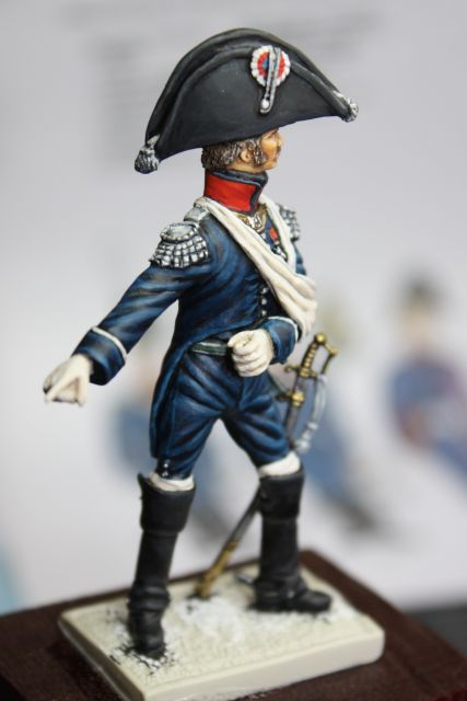 Le colonel Despans-Cubières à Hougoumont (mise en peinture) 30.272