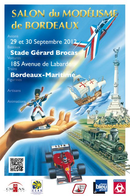 Exposition Internationale des Maquettistes à Bordeaux 21.52