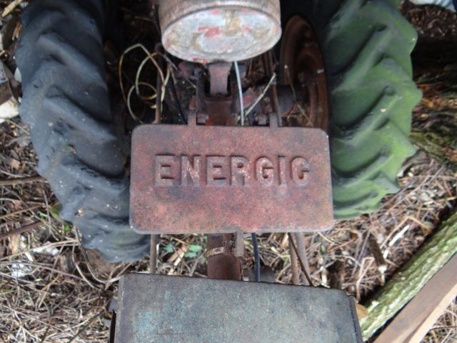Motoculteur Energic 207 + remorque + (charue) (dans son jus) 24.63