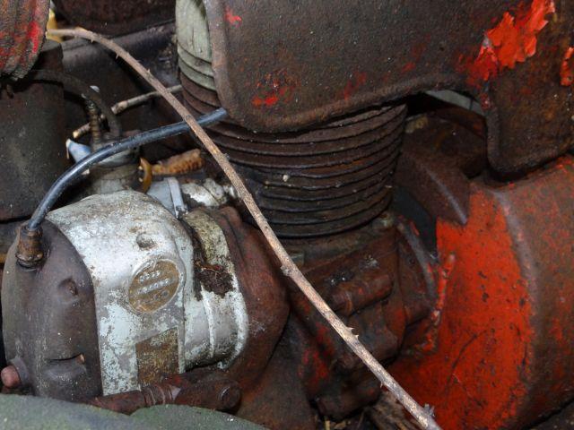 Motoculteur Energic 207 + remorque + (charue) (dans son jus) 24.65
