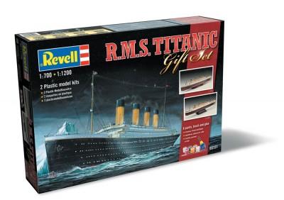 revell annonce le titanic au 1/1200 et 1/700 01.81