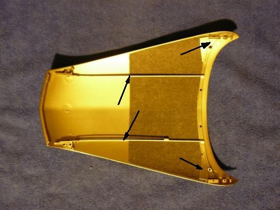 Montage de la DS21 CITROEN  au 1/8 (60cms) ALTAYA (pas à pas) 13.75