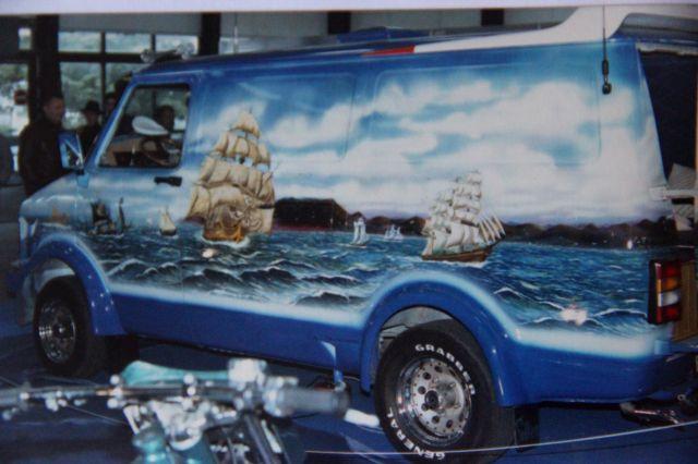 Salon auto moto collection - 2003 - stand fifties gang 27.33