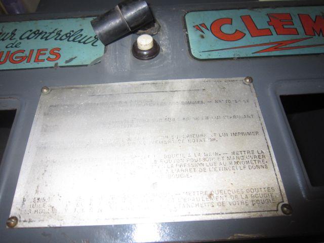 Sableuse testeuse de bougies CLEM 28.114