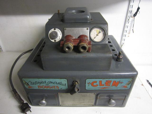 Sableuse testeuse de bougies CLEM 28.115