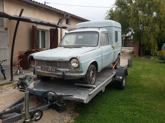 simca 1100 vf2 5 places 1974 12.55