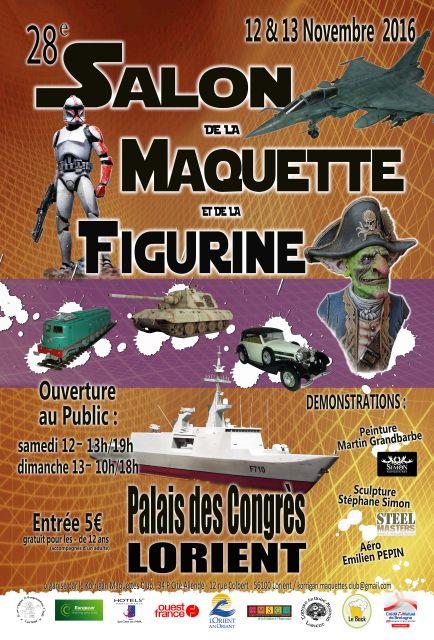Salon de la Maquette de Lorient, 12-13 novembre 2016 25.60