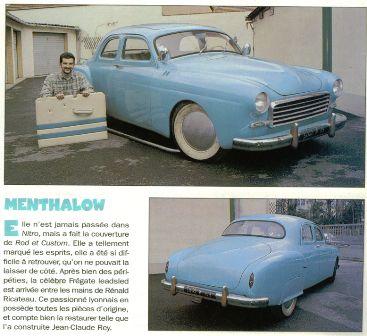 Renault Frégate custom 17.7