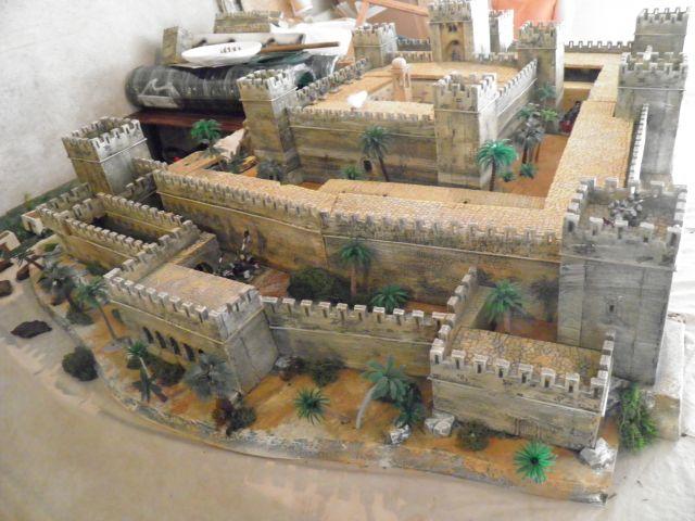 Escarmouche SAGA en terre CROISEE l'assaut de la forteresse de BELVOIR (sur les hauteur du Jourdain) 14.43