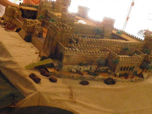 Escarmouche SAGA en terre CROISEE l'assaut de la forteresse de BELVOIR (sur les hauteur du Jourdain) 14.44
