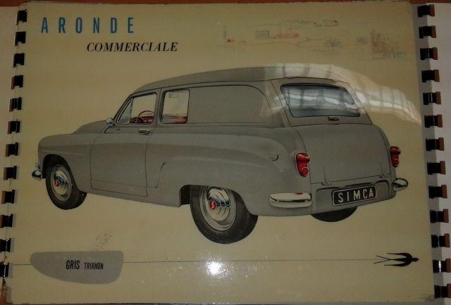 Restauration d'une SIMCA Aronde Grand Large de 1955 surnommée L'Arlésienne ... 02.10