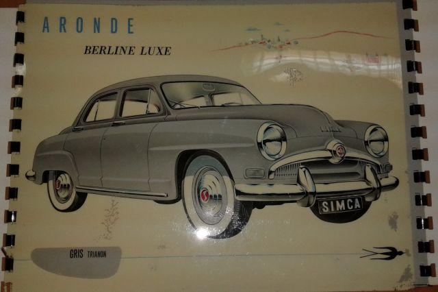Restauration d'une SIMCA Aronde Grand Large de 1955 surnommée L'Arlésienne ... 02.4