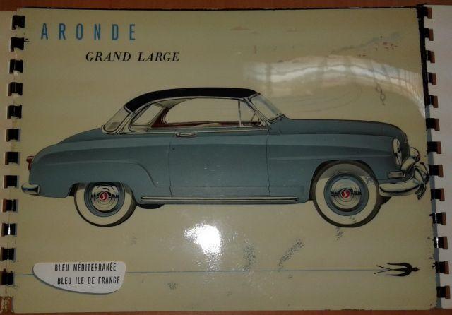 Restauration d'une SIMCA Aronde Grand Large de 1955 surnommée L'Arlésienne ... 02.6