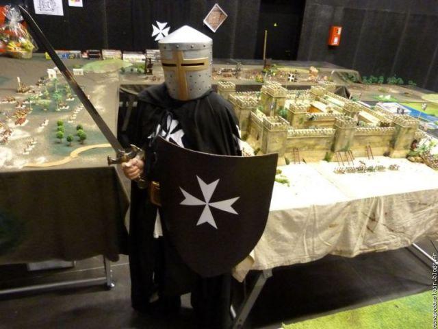 Escarmouche SAGA en terre CROISEE l'assaut de la forteresse de BELVOIR (sur les hauteur du Jourdain) 03.13