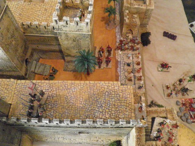 Escarmouche SAGA en terre CROISEE l'assaut de la forteresse de BELVOIR (sur les hauteur du Jourdain) 22.27