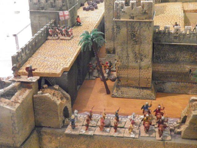 Escarmouche SAGA en terre CROISEE l'assaut de la forteresse de BELVOIR (sur les hauteur du Jourdain) 22.29