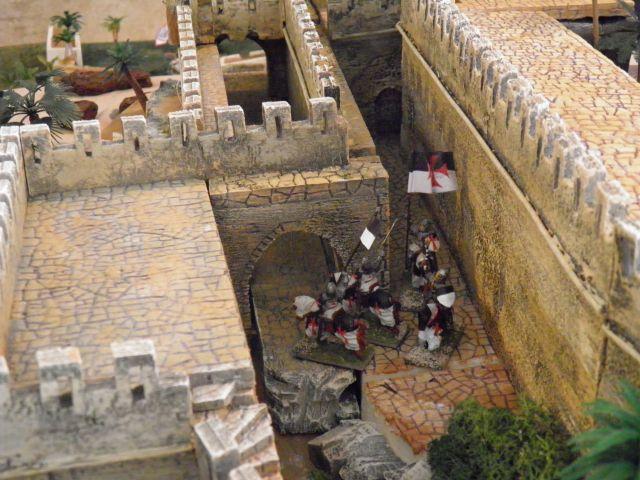 Escarmouche SAGA en terre CROISEE l'assaut de la forteresse de BELVOIR (sur les hauteur du Jourdain) 22.30