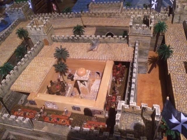 Escarmouche SAGA en terre CROISEE l'assaut de la forteresse de BELVOIR (sur les hauteur du Jourdain) 22.31