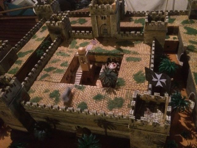Escarmouche SAGA en terre CROISEE l'assaut de la forteresse de BELVOIR (sur les hauteur du Jourdain) 22.32