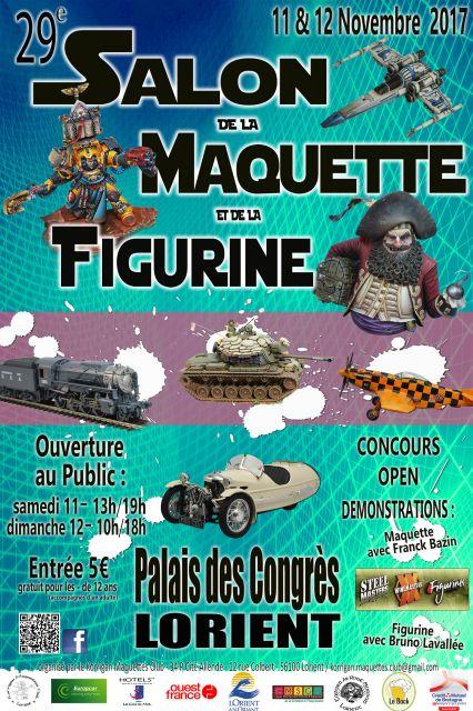 29ème Salon de la Maquette et de la Figurine de LORIENT -  11 & 12 Novembre 2017 12.42