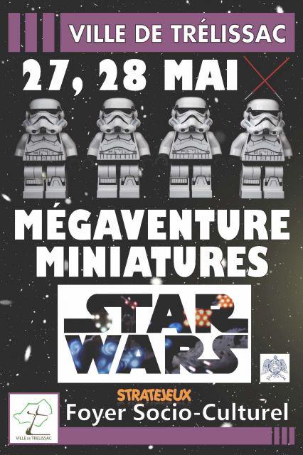 MEGAVENTURE STARWARS MINIATURES 01.55