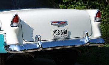 Pare choc AR. Chevrolet 1955! (trouvé )> 26.1