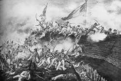 1809 Les Anglois débarquent en force à la Martinique 11.26
