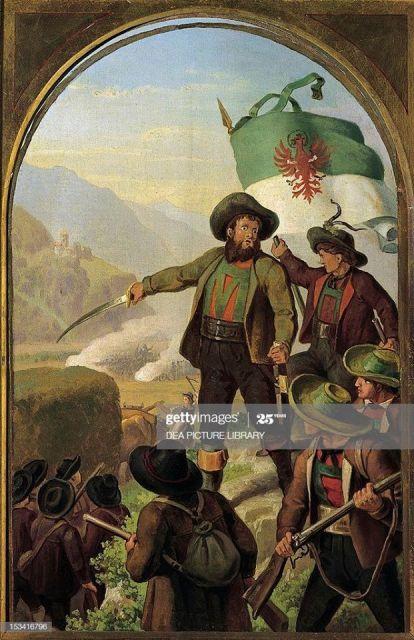 1809 LES INSURGES TYROLIENS D'ANDREAS HOFER 30.11