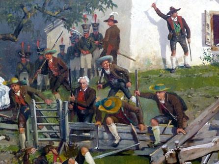 1809 LES INSURGES TYROLIENS D'ANDREAS HOFER 30.12